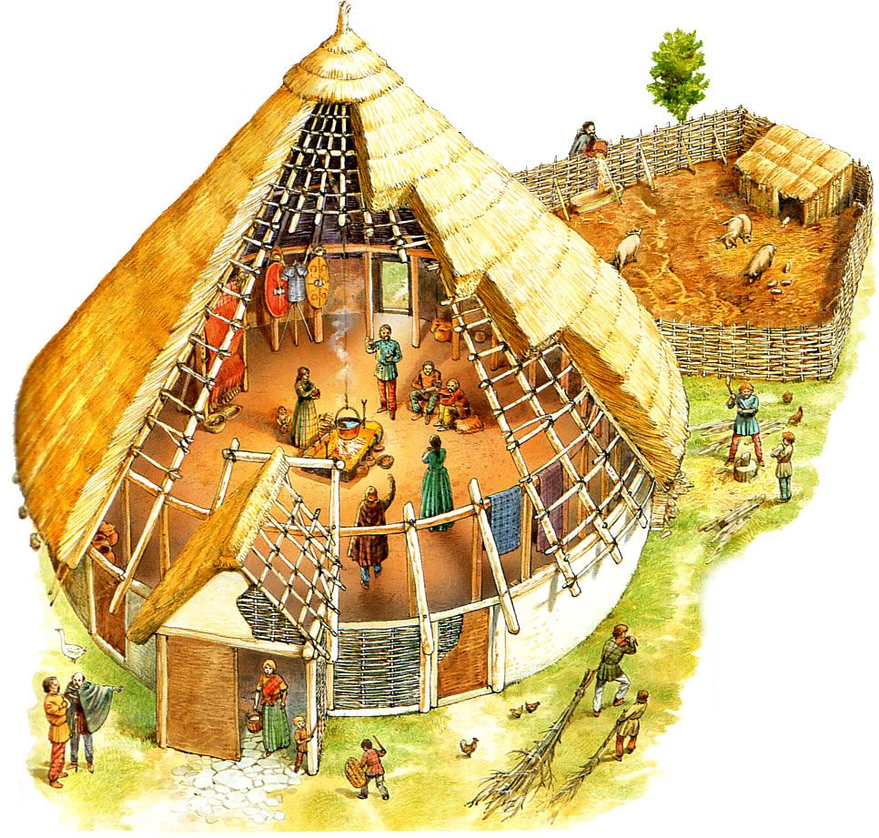 Spain Iberia Pre Roman Spain Bronze Age Roundhouse