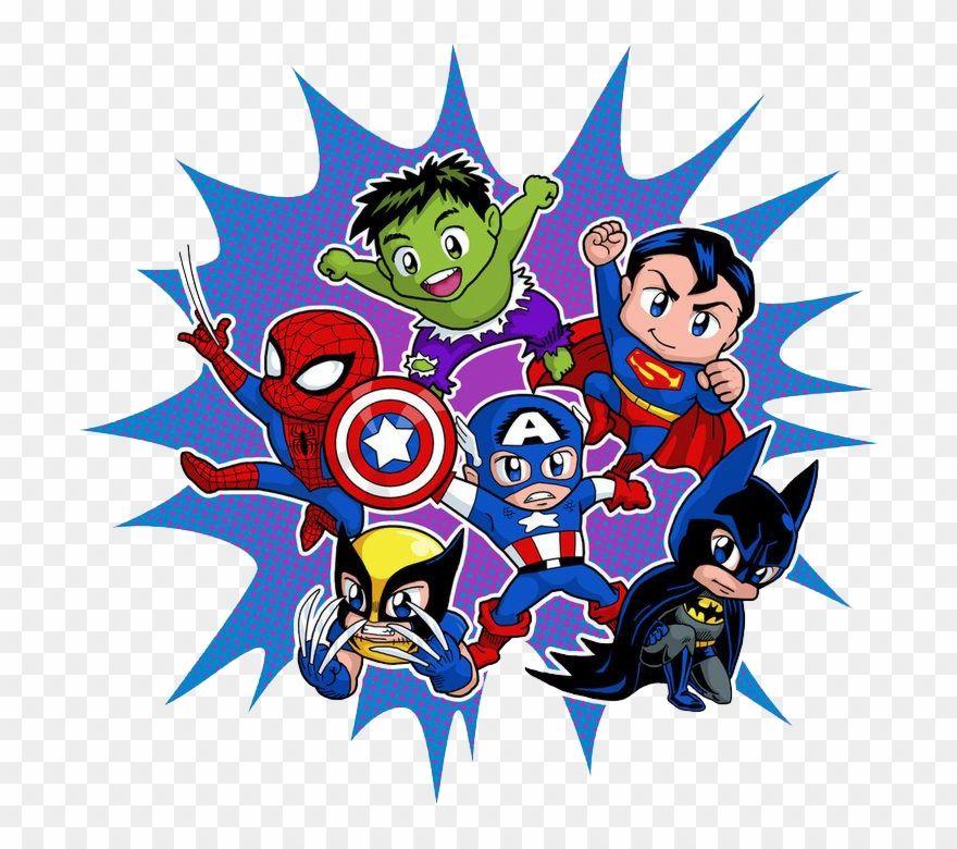 Superman Clipart Mar Super Heroes Marvel Bebes Png Download Baby Superhero Baby Avengers Superman Clipart
