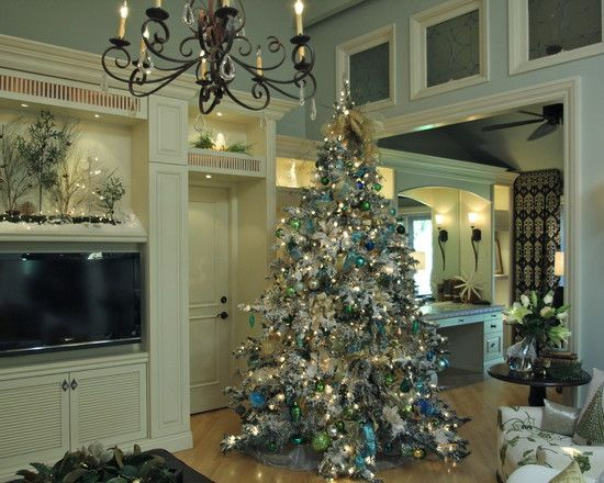 awesome traditional christmas decoration for living room with