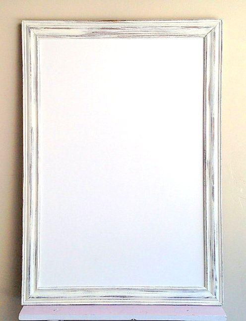 Magnetic DRY ERASE BOARD Framed Whiteboard Large Framed