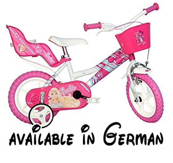 Dino 30,48 cm Barbie Fahrrad. Barbie Kinder-Fahrrad mit 30,5 cm ...