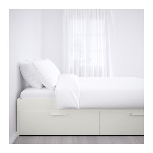 Brimnes Struttura Letto Con Cassetti Bianco Ikea It Bed Frame With Storage Bed Frame Twin Storage Bed