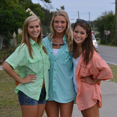 Colorful Columbia Bahama Shirts, want!!!