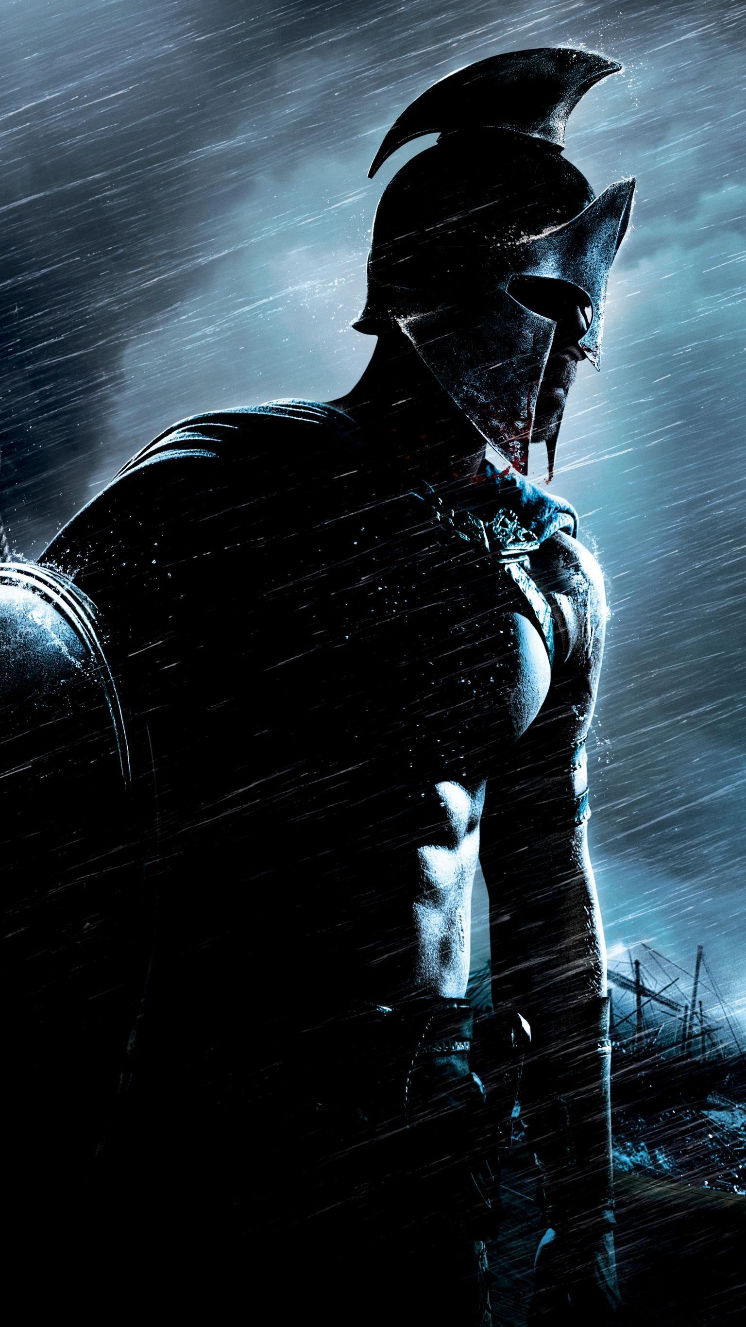 300 Rise Of An Empire 2014 Phone Wallpaper Moviemania Warriors Wallpaper Spartan Warrior 300 Movie