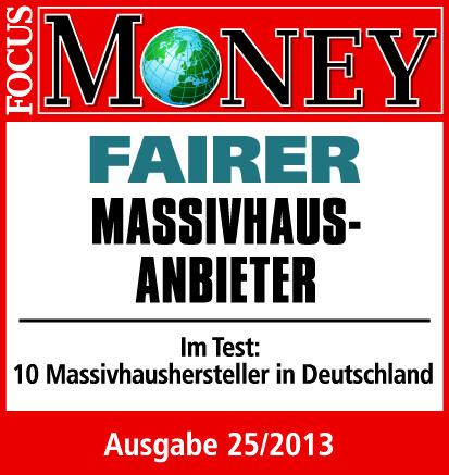 Focus Money Massivhaus