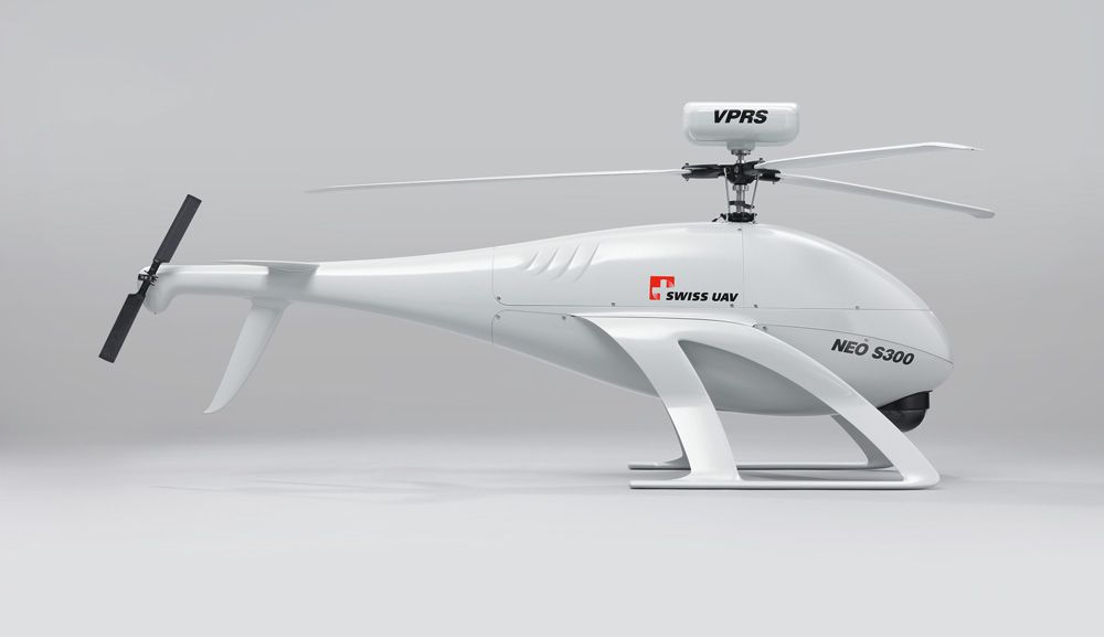 Elicottero Drone : The latest generation of swiss uav drone helicopters