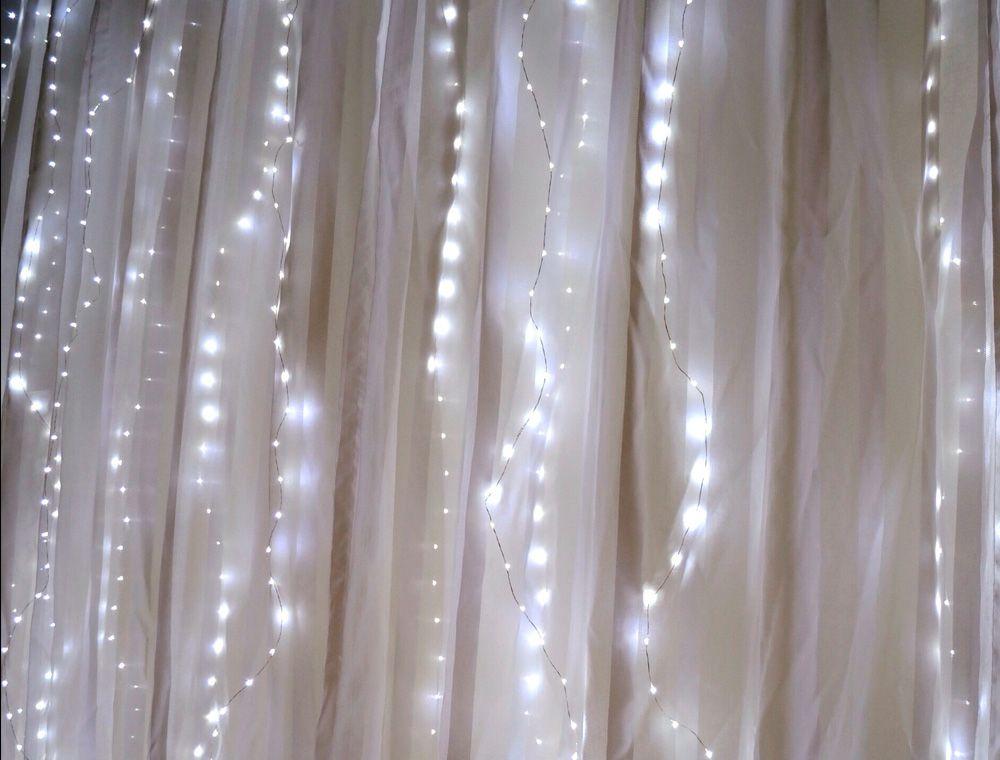 Fairy Light Curtain Lights 70 Led 80 Length Battery Operated