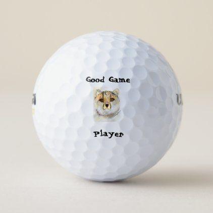 Cheetah Golf Balls
