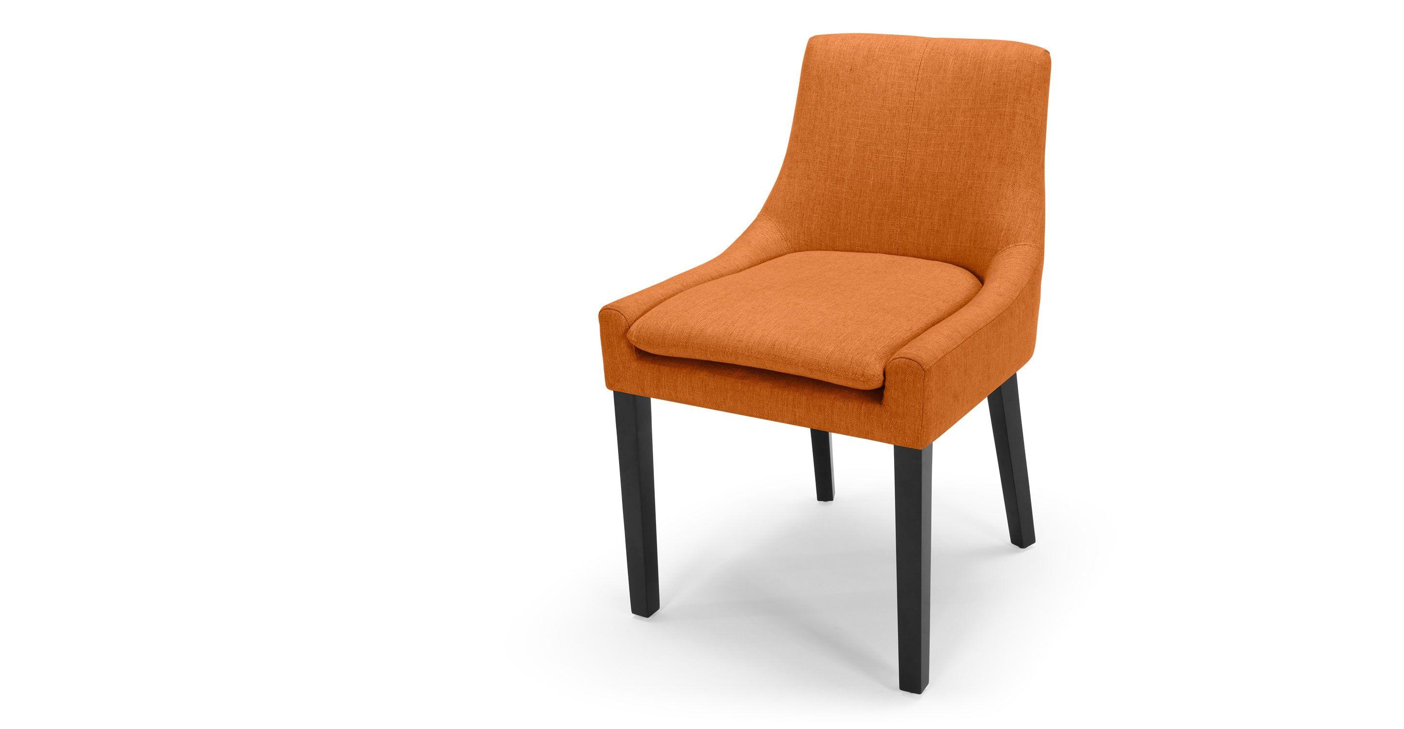 Eetkamer Van Oranje : Eames dar oranje een stoel die de kamer opfleurt