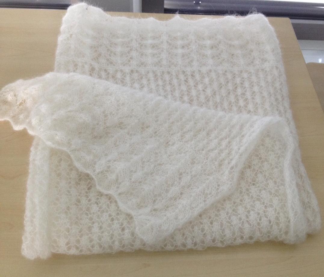 Lace Schal nach dem Muster von Drops 146-24 | Stricken/Häkeln ...