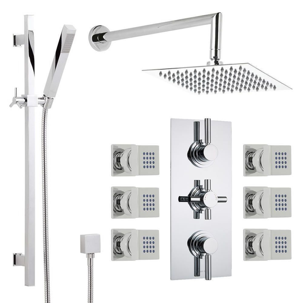 On Sale 337 Hudson Reed Thermostatic Shower System With Brass
