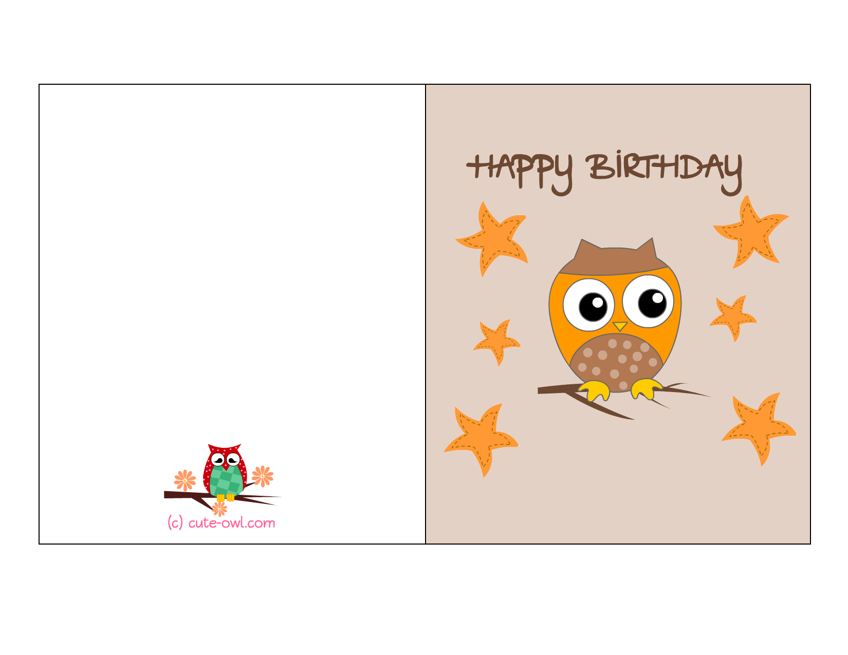 Happy Birthday Cards Printable – Birthday Cards to Print out for Free
