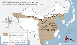 Qin Dynasty Map on