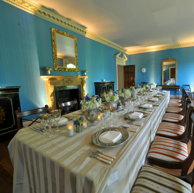 Kensington Palace Apt 1 A The Dining Room In Photo Believed To Be Taken For Function After Princess Margaret S Occupation Via Royal Dish Blog