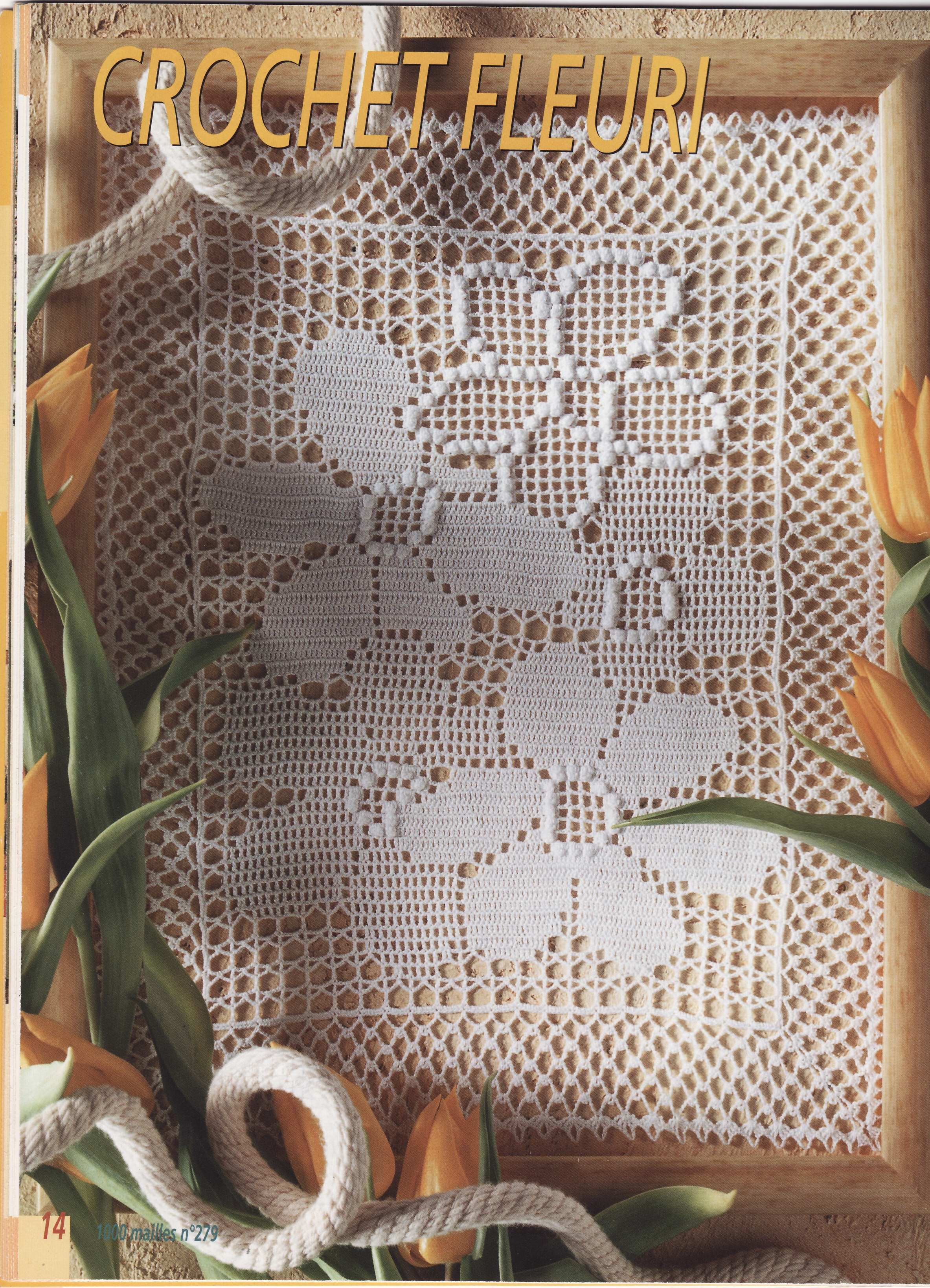 Tischläufer häkeln - crochet tablerunner | Häkeln Tischläufer ...