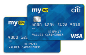 Pay ment options for best buy credit cards
