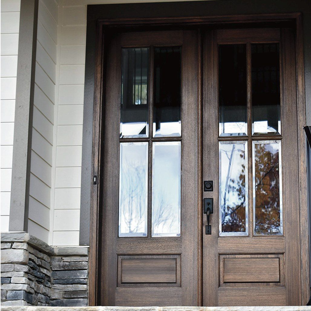 4-Lite True Divided Lite Double Entry Door (6/8 And 8/0