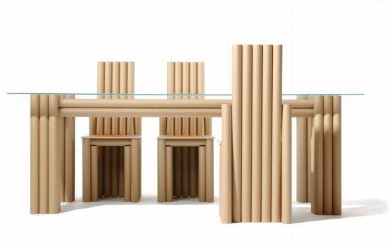 briefwechsel2 una Oficina stuhl desechables de cartón muebles con papel reciclado y Libros oficina Muebles de cartón