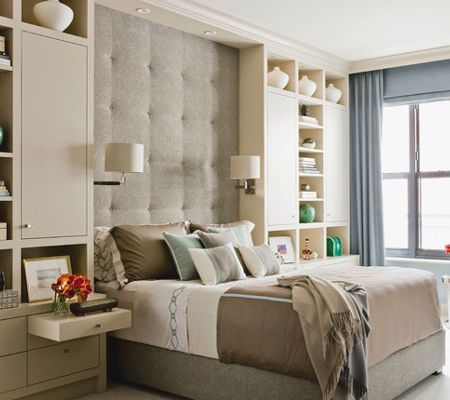 Storage Ideas For A Small Main Or Master Bedroom Small Master Bedroom Bedroom Built Ins Bedroom Interior