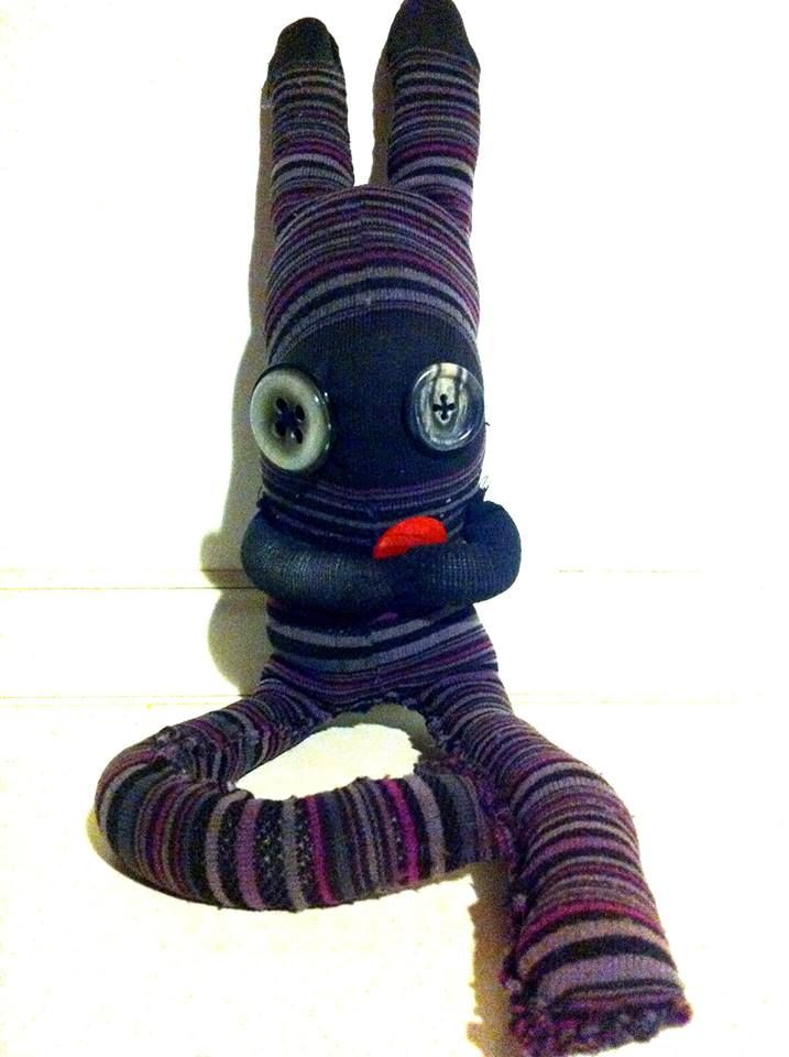Monster Socks | Recycling Projects & Ideas | Sock monster