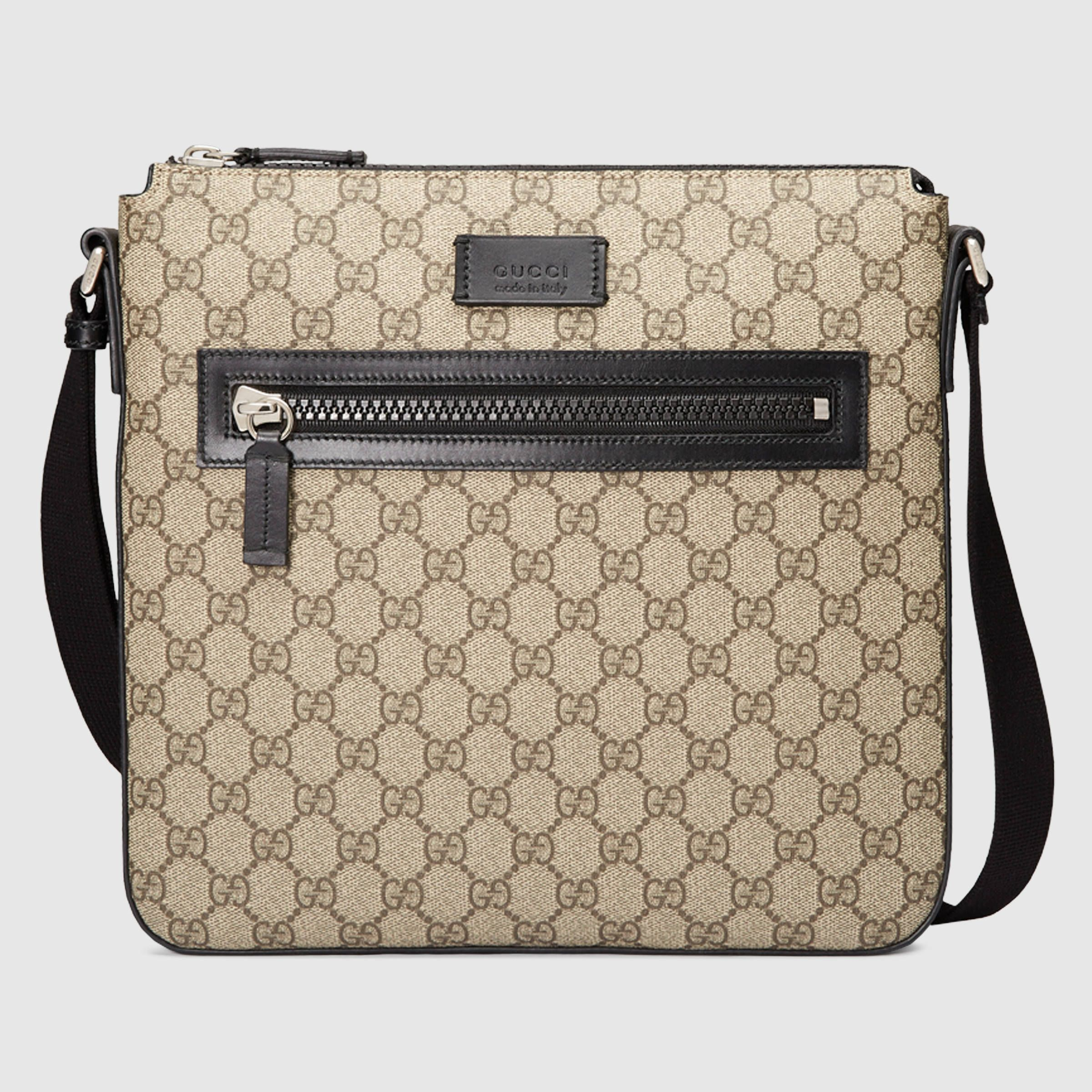 Gucci Sylvie Velvet GG Supreme Crossbody Bag