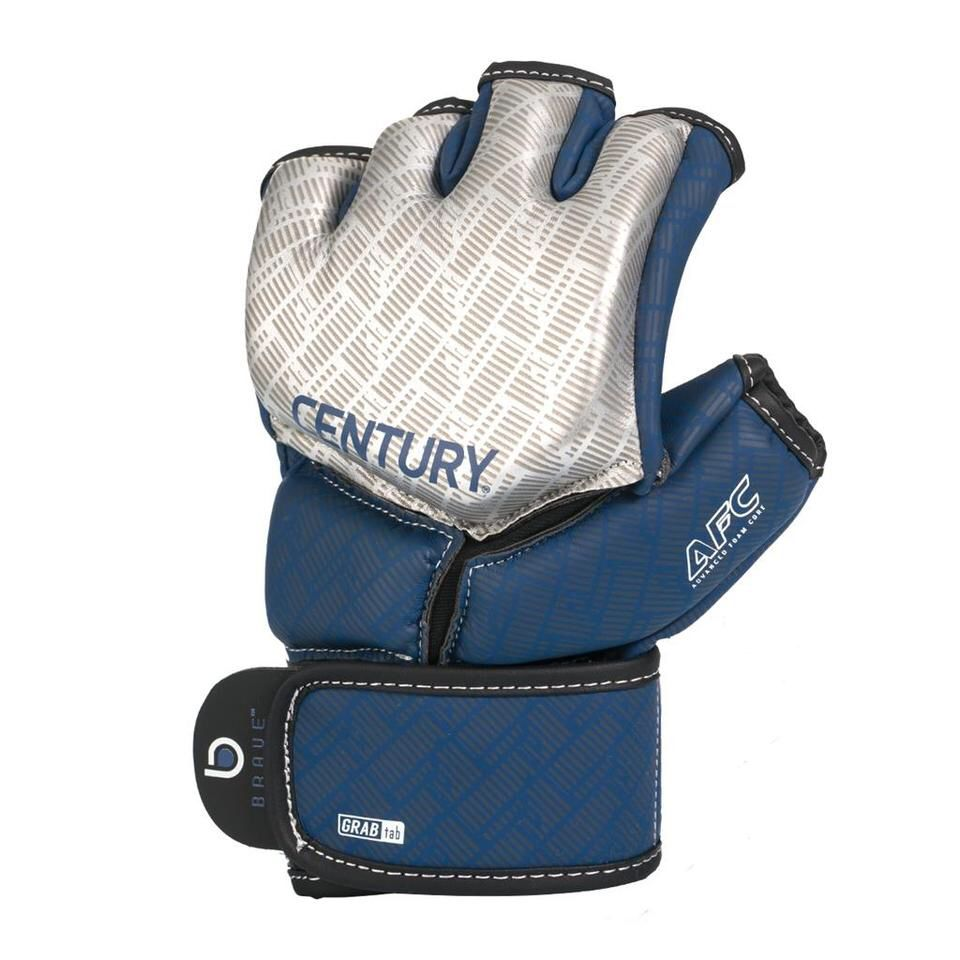 Century Brave Mma Competition Gloves Silver Navy Mma Training Mma Boxing Training