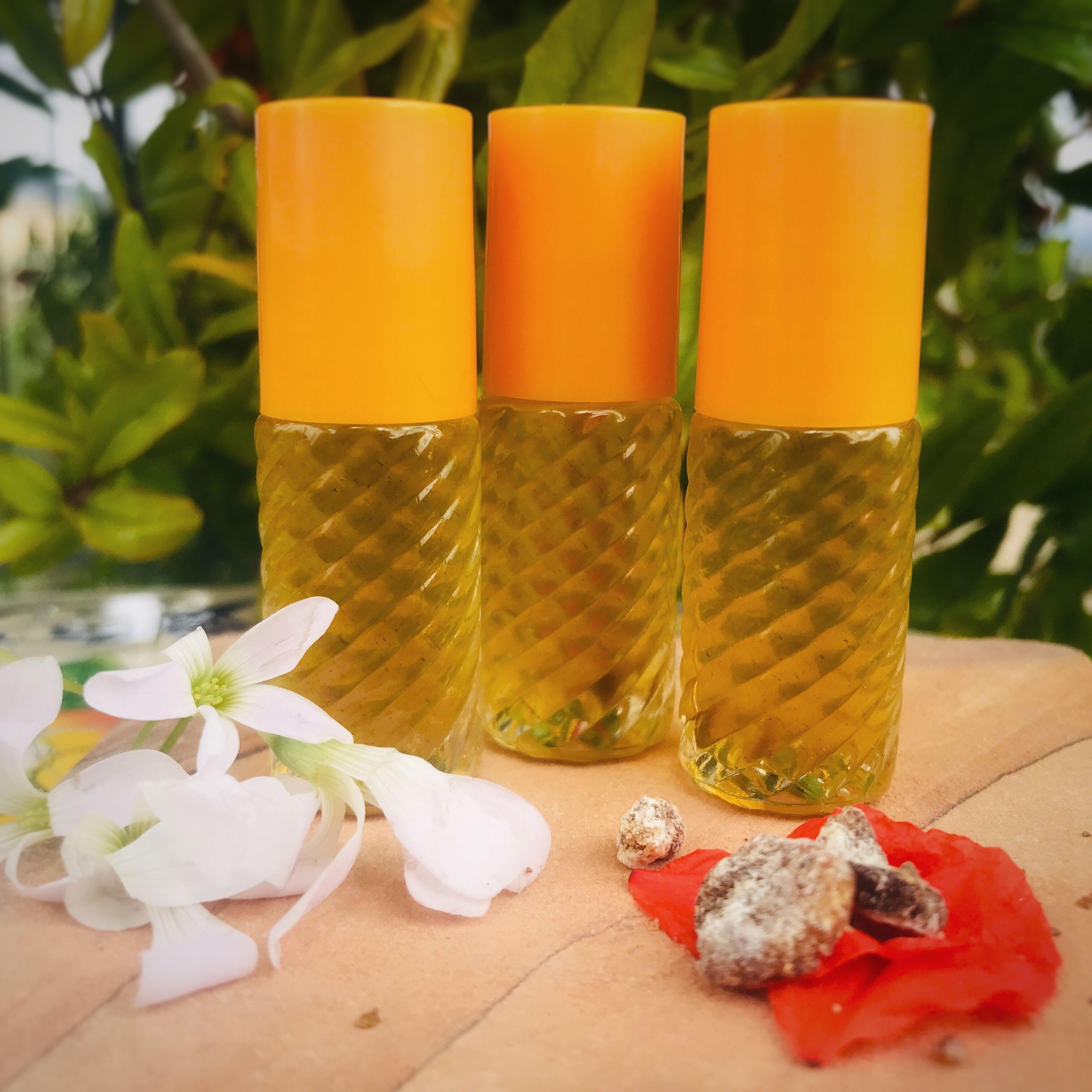 Summer Lovin' Natural Infused Oil Perfume #jojobaoil