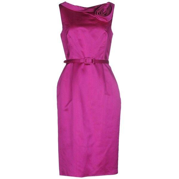 Fuchsia Tube Dress