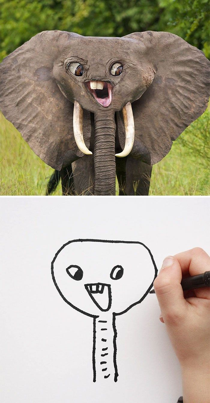 Dad Shows What Kid S Drawings Would Look Like In Real Life And They Re Terrifying Funny Kid Drawings Funny Babies Drawing For Kids,Standard House Brick Dimensions Australia