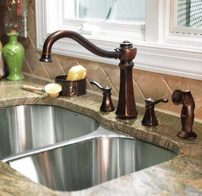 Clean Oil Rubbed Bronze Fixtures For The Home Kitchen