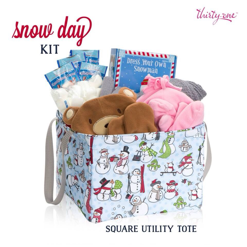 Thirty one november customer special 2014 - Thirty One Gifts Keep All Those Must Haves Items For A Snow Day All Gifts Novembernovember Special2014