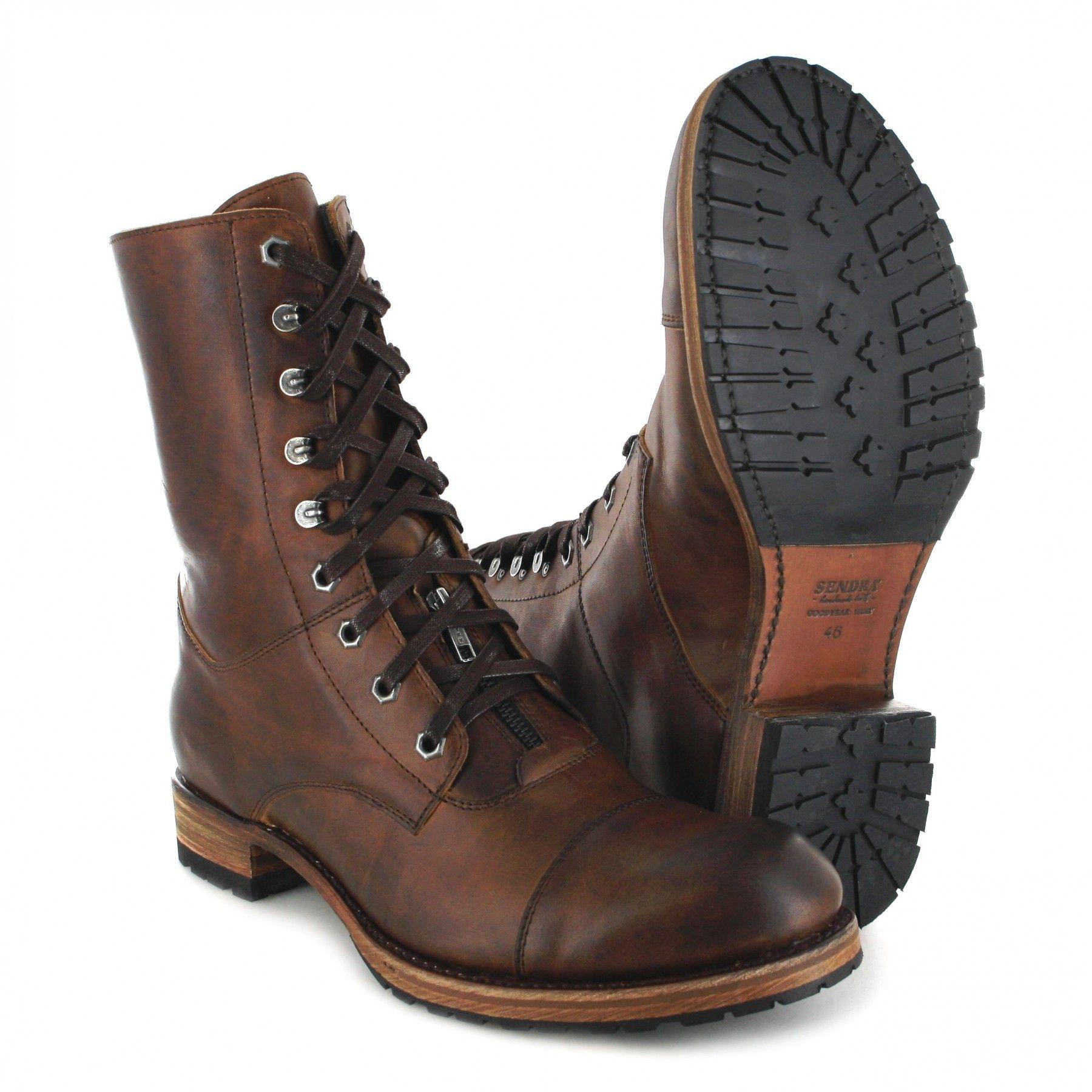 Urban Sendra Boots Braun 12334 Tang In Boot Schnürstiefel TJlFcK1