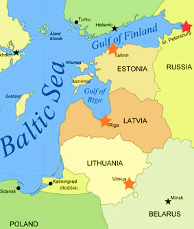 where is lithuania located - Google Search | Kid\'s Study Estonia ...