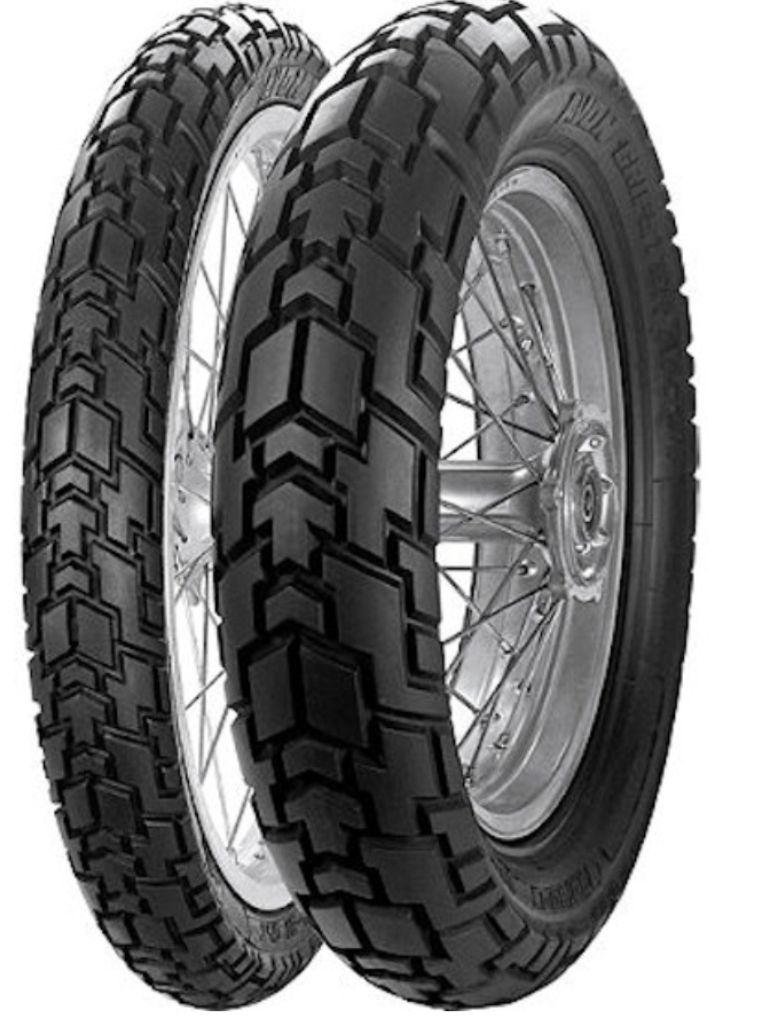 Avon Motorcycle Tires >> Avon Gripster Dual Sports Motorcycle Tyres