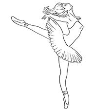 Top 10 Free Printable Beautiful Ballet Coloring Pages Online ...
