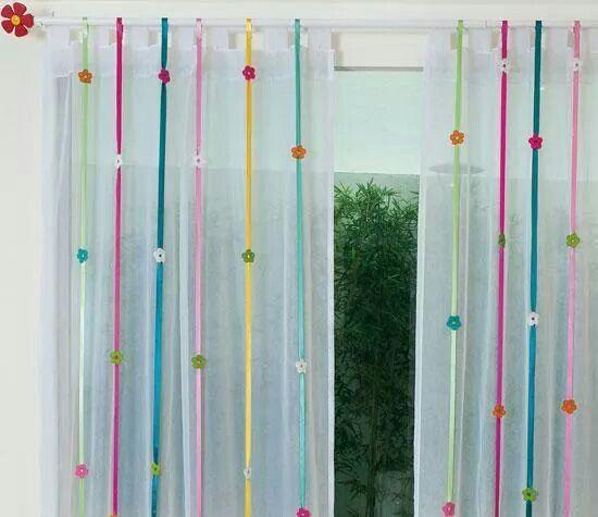 Cortinas para niñas   cortinas in 2018   Pinterest   Cortinas ...