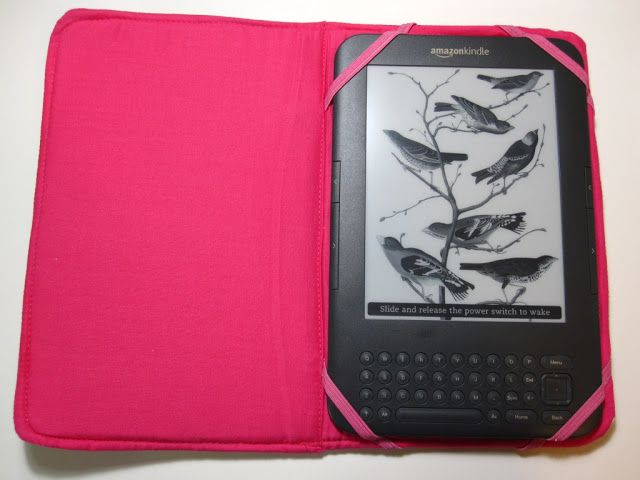 clearlytangled.: kindle case tutorial