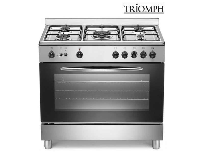 Soldes Cuisinière Conforama, achat Cuisinière 90 cm TRIOMPH TG9GX ...