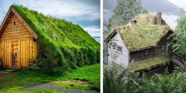 These Gorgeous Green Roofed Homes From Scandinavia are Straight Out - condensation dans la maison