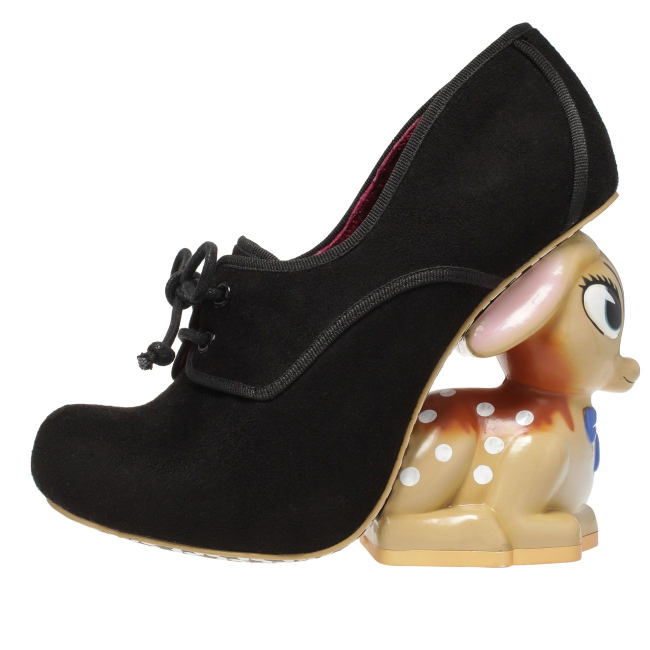 Irregular Choice 'Fawn', black From The Plus Size Fashion Community At www.VintageAndCandy.com