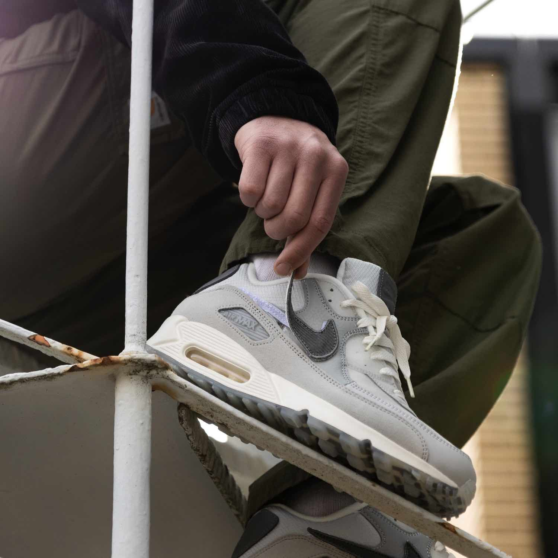 insidesneakers • Nike x Basement London Air Max 90 Grey Fog ...
