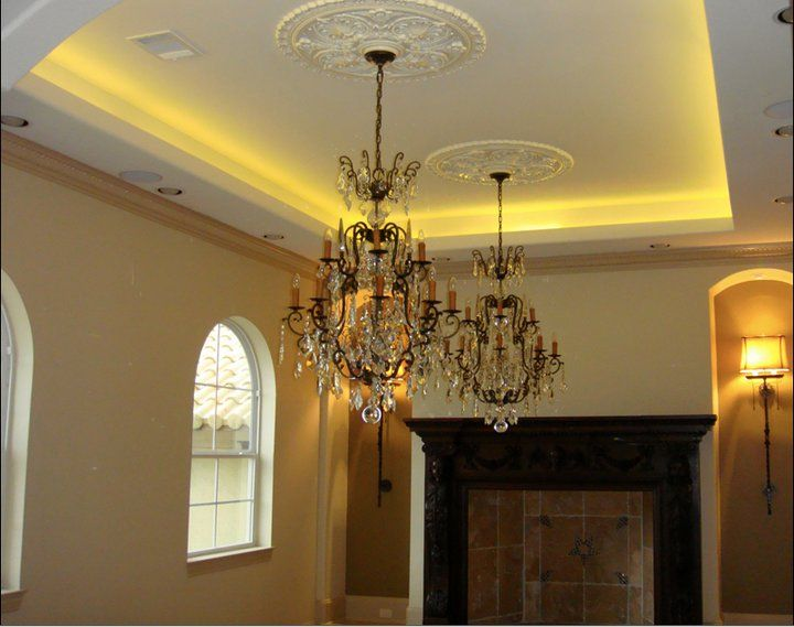 #Home #LED #Lighting #Ceiling #Crown #Molding by Inspired LED
