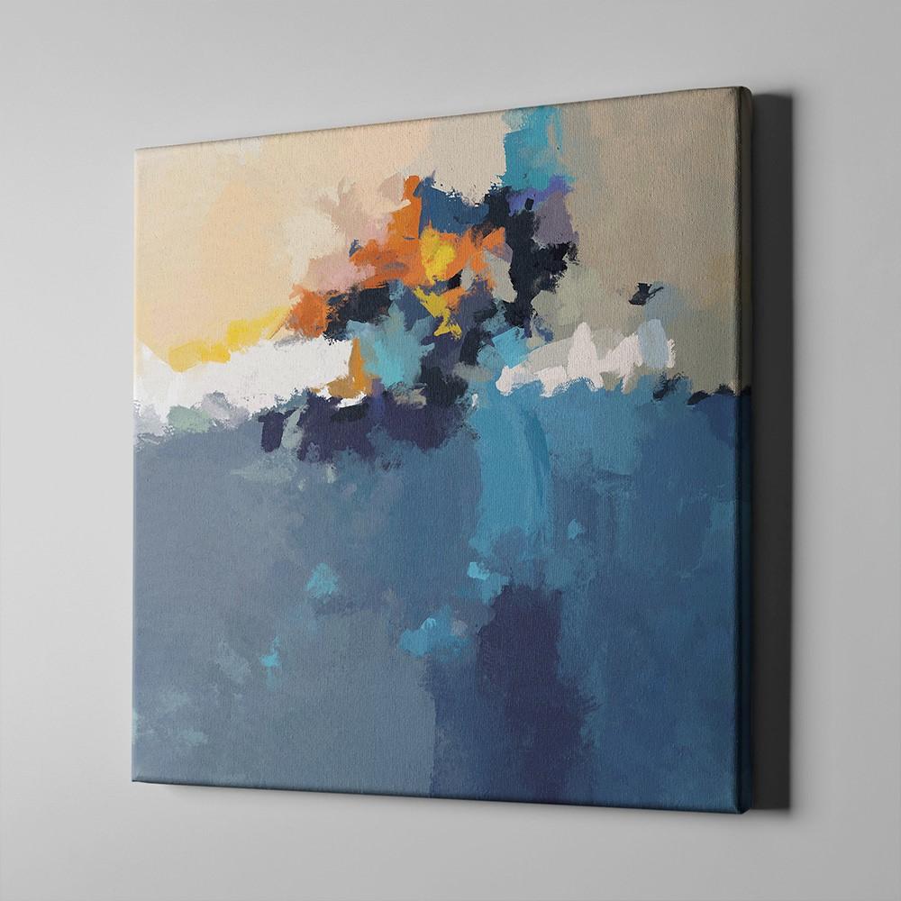 Bari Gallery انطباع 1 لوحة كانفس لوحة فنية جدارية للمنزل Art Painting