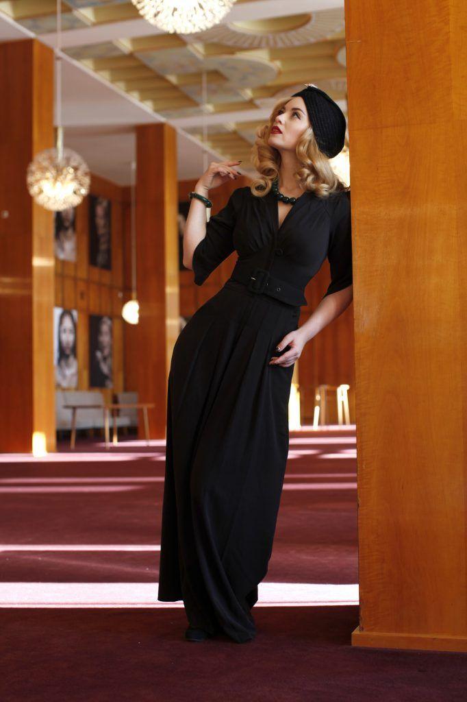 In der Oper Leipzig - Festliche Retro Mode für deinen glamourösen Auftritt