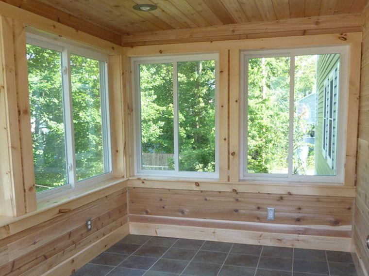 Sun Room House With Porch Sunroom Addition Three