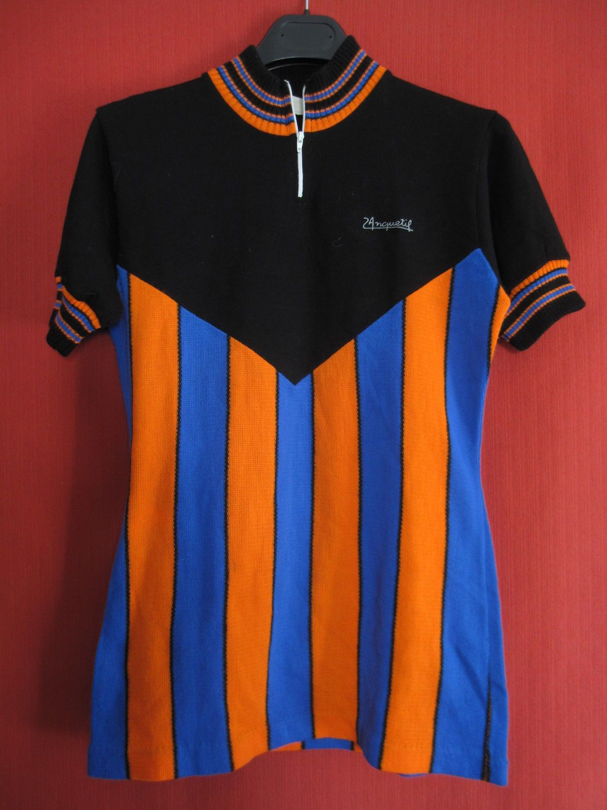 Maillot cycliste Bachelier Sport jacques Anquetil Vintage 70 S BE - 174  067545eaa
