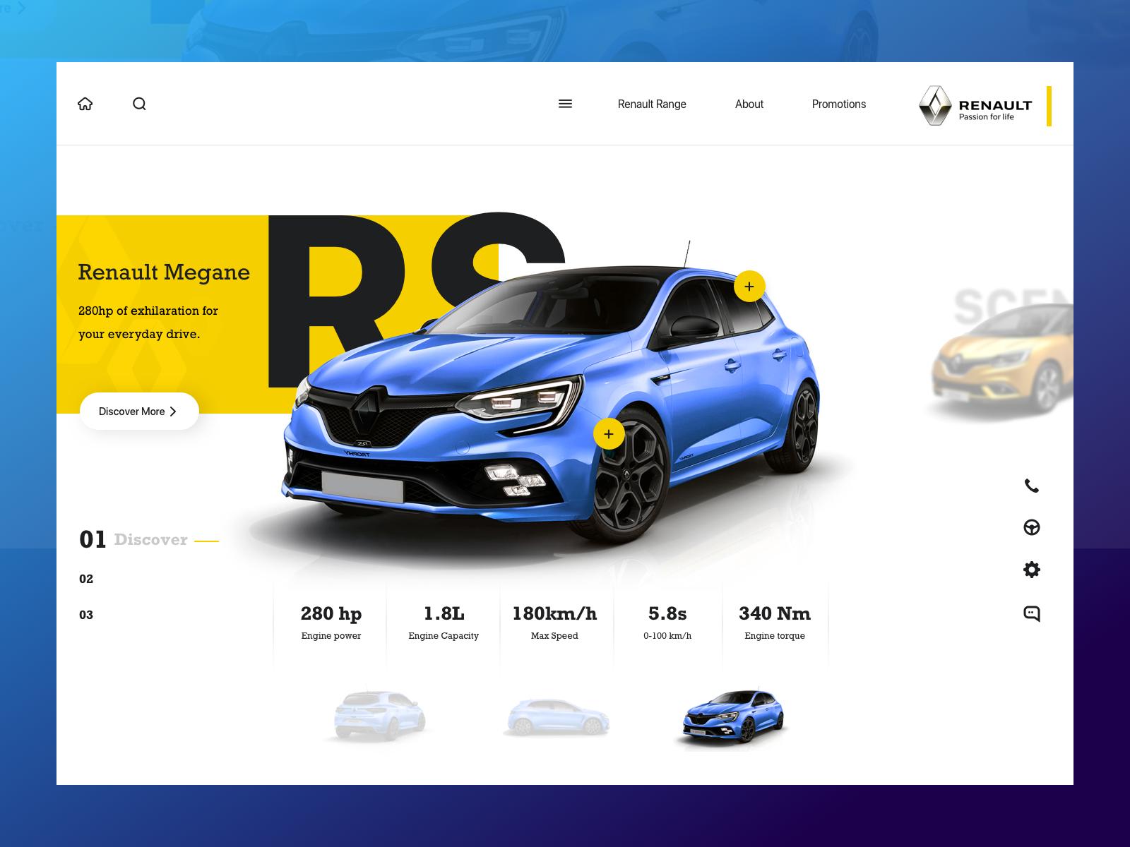 Landing Page Car Website In 2020 Car Advertising Design Banner Design Layout Website Design Inspiration
