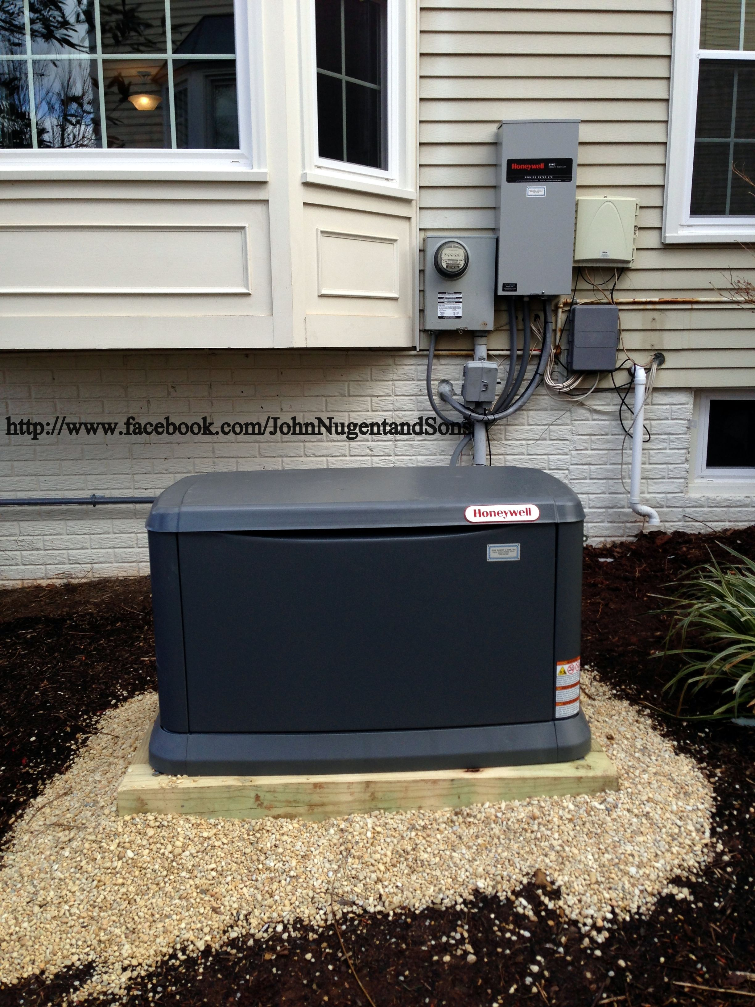 Honeywell 20KW whole house generator with ATS smart switch