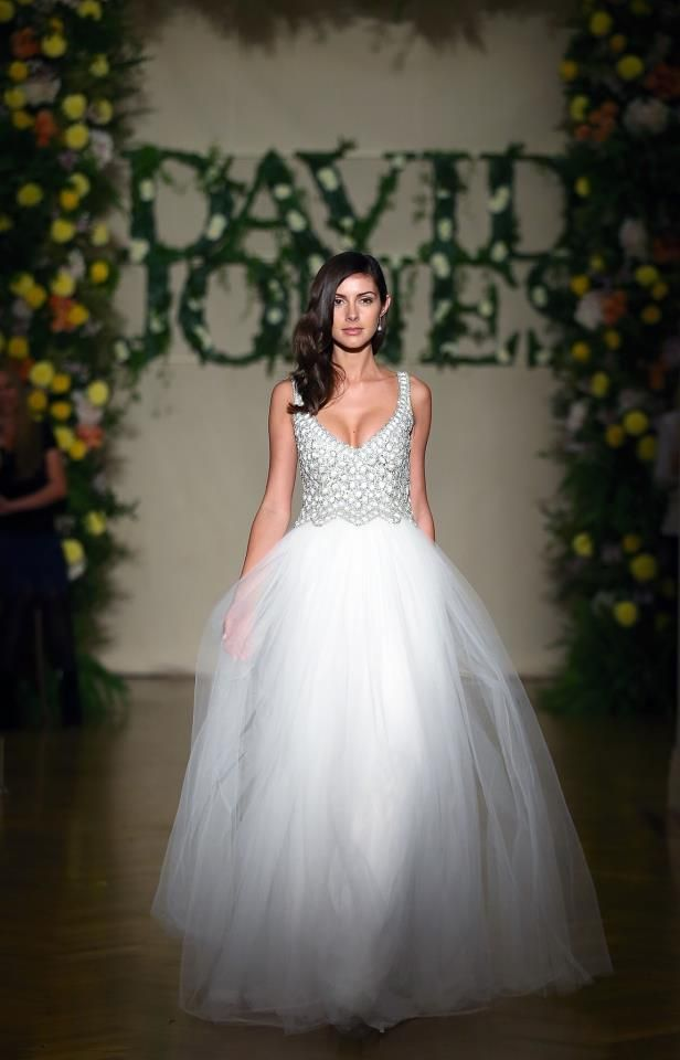 One of our favourite gowns from the David Jones Bridal Parades this ...