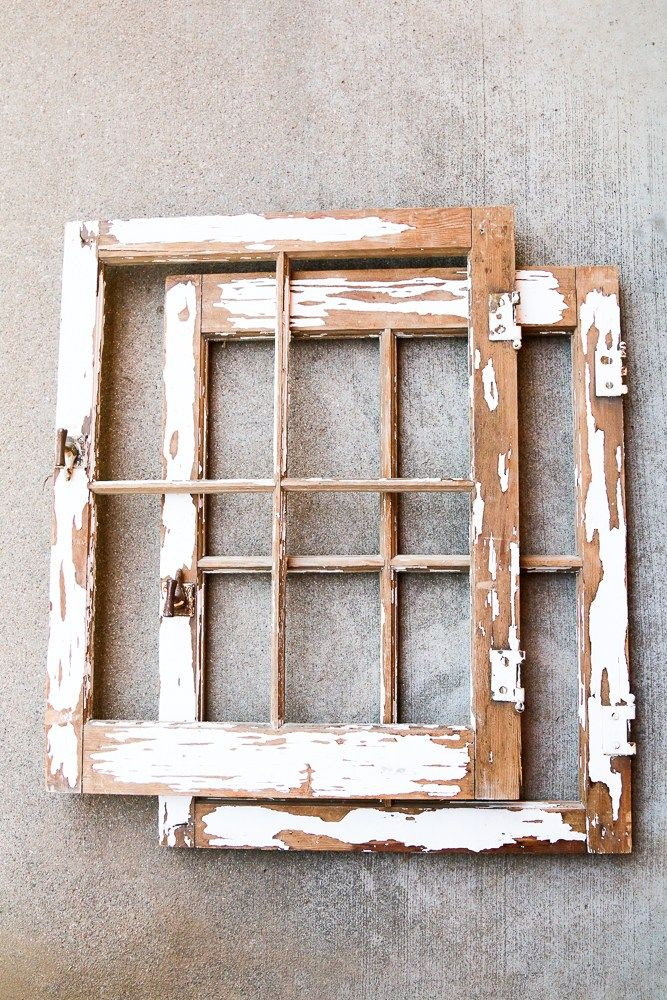 How To Turn A Vintage Window Into A Mirror With Images Vintage Window Decor Vintage Windows Window Frame Decor